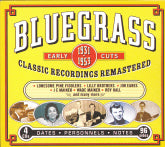 VARIOUS ARTISTS 'Bluegrass Early Cuts 1931-1953'
