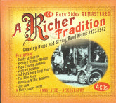 VARIOUS ARTISTS 'A Richer Tradition-Country Blues And String Band Music 1923-1942'