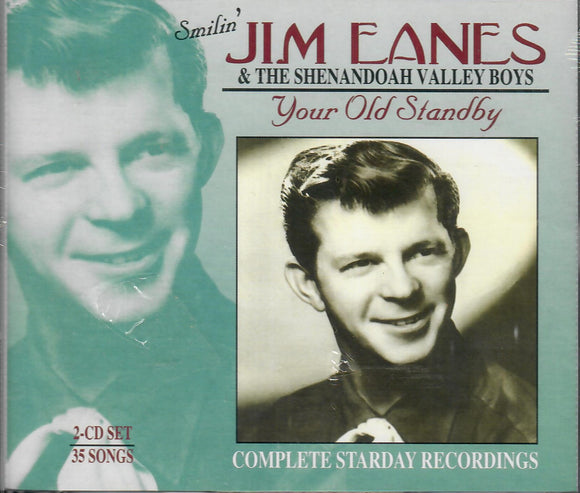 SMILIN' JIM EANES & THE SHENANDOAH VALLEY BOYS 'Your Old Standby' STAR-3507