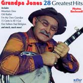 GRANDPA JONES '28 Greatest Hits' KING-5102-CD