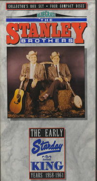 STANLEY BROTHERS 'The Early King Years-1958-1961' KING-7000-CD