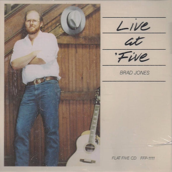 BRAD JONES 'Live at Five' FFP-1111