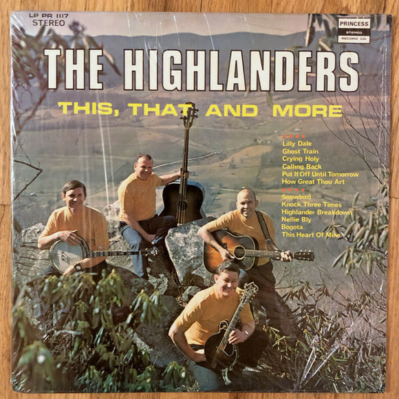 THE HIGHLANDERS - 'This, That And More' - LP