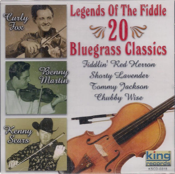 Legends of the Fiddle; 20 Bluegrass Classics' KSCD-0318