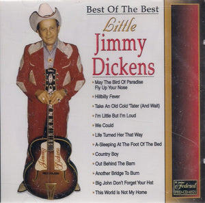 LITTLE JIMMY DICKENS 'Best of the Best' FED-6521
