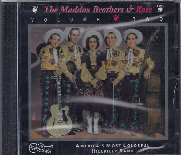MADDOX BROTHERS/MADDOX ROSE 'VOLUME 2 1947 - 1951' ARH 437