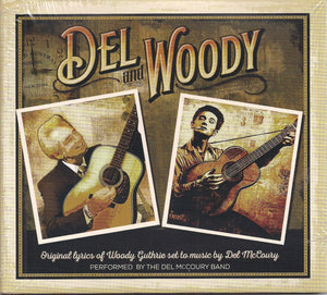 DEL MCCOURY BAND 'Del and Woody' MCM-0019-CD