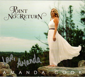 AMANDA COOK 'Point of No Return'   MFR-190401-CD