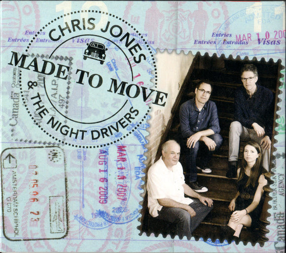 CHRIS JONES AND THE NIGHT DRIVERS 'Made to Move'  MH-1679-CD