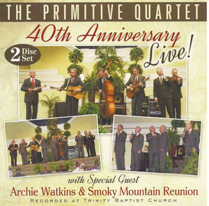 PRIMITIVE QUARTET '40th Anniversary - Live'