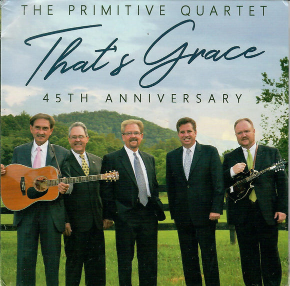 PRIMITIVE QUARTET 'That's Grace'  45TH Anniversary   MHR-3450-CD