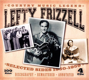 LEFTY FRIZZELL 'Country Music Legend: Selected Sides 1950-1959' (4CDs) JSP-77137-CD