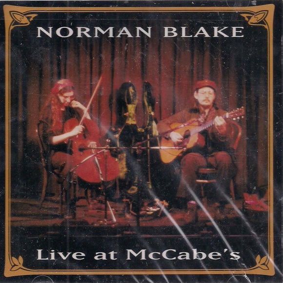 NORMAN BLAKE 'Live at McCabe's'  TAKCD-6506