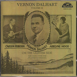 VERNON DALHART 'On the Lighter Side, Vol. 2'
