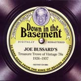 VARIOUS ARTISTS 'Down In The Basement: Treasure Trove Of Vintage 78s' OUT-OF-PRINT