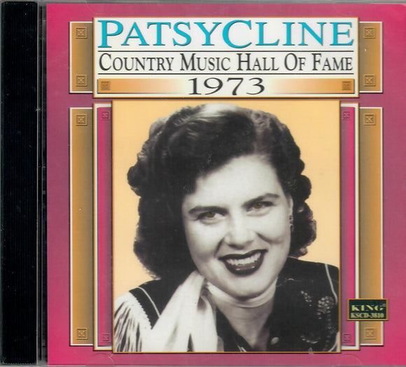 PATSY CLINE 'Country Music Hall of Fame 1973'   KING-3810-CD