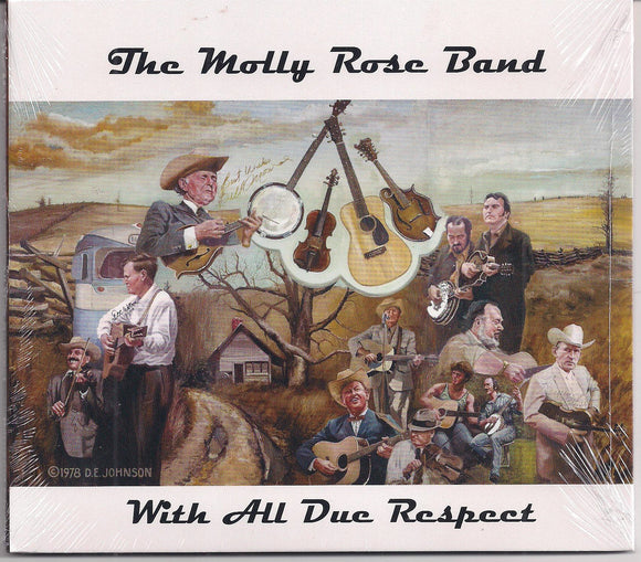 THE MOLLY ROSE BAND 'With All Due Respect' PATUX-285-CD