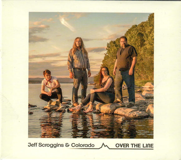 JEFF SCROGGINS & COLORADO  'Over the Line'   PATUX-325-CD