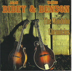 ALAN BIBEY & WAYNE BENSON 'The Mandolin Chronicles'     PRC-1183-CD