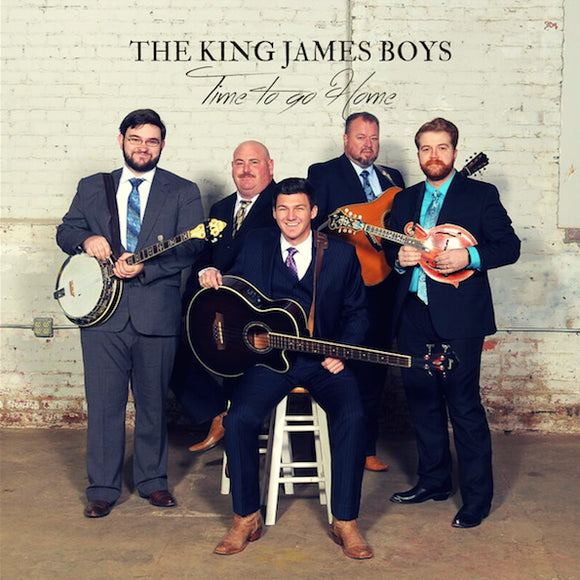 THE KING JAMES BOYS 'Time to Go Home'   PRC-1220-CD