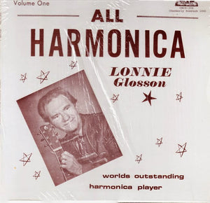 LONNIE GLOSSON 'All Harmonica' - LP