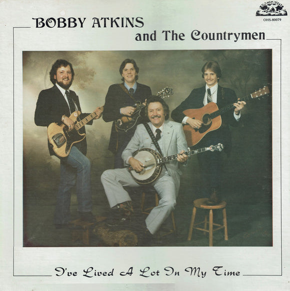 BOBBY ATKINS & THE COUNTRYMEN 'I've Lived a Lot In My Time' - LP