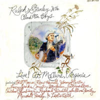 RALPH STANLEY & THE CLINCH MOUNTAIN BOYS 'LIVE! at McClure, Virginia' - LP
