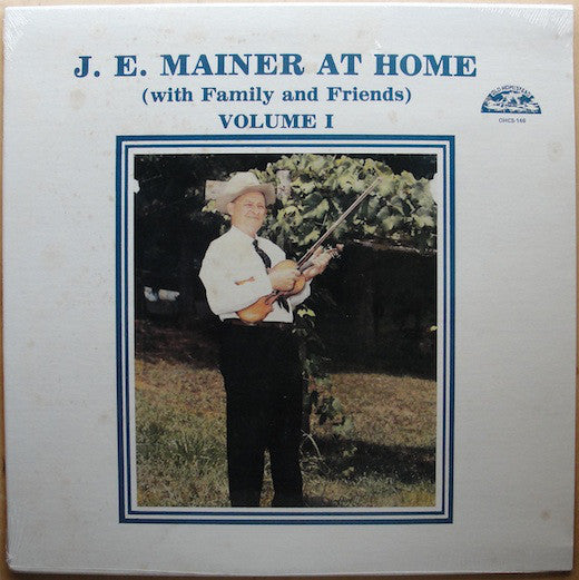J. E. MAINER 'At Home (with Family and Friends)' - LP