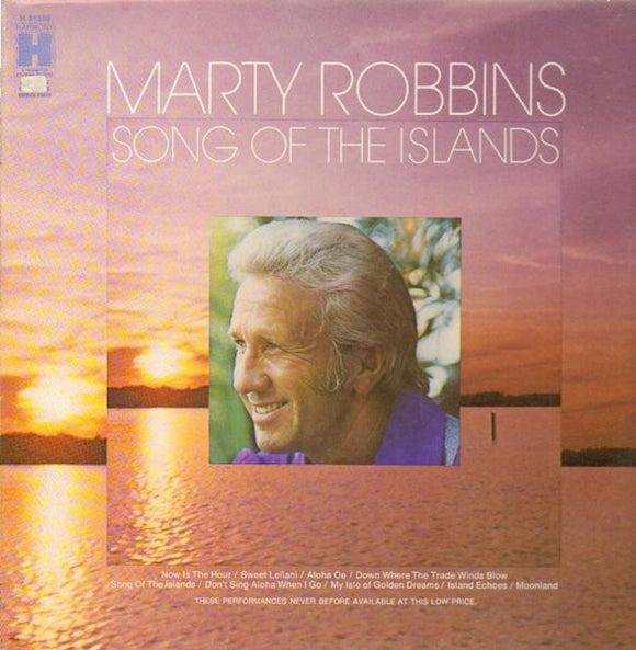MARTY ROBBINS 'Song of the Islands' - LP