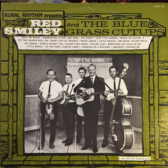 RED SMILEY & THE BLUEGRASS CUTUPS 'Self Titled' - LP