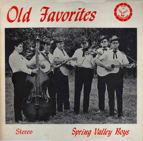 SPRING VALLEY BOYS 'Old Favorites' - LP