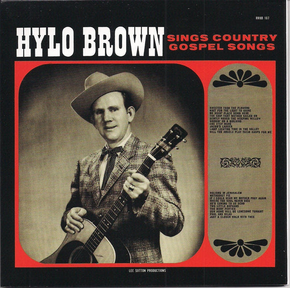 HYLO BROWN 'Sings Country Gospel Songs' RUR-187-CD