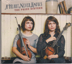 THE PRICE SISTERS 'A Heart Never Knows' REB-1868-CD
