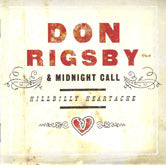 DON RIGSBY 'Hillbilly Heartache' REB-1818-CD