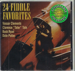 CLEMENTS/TATE/RYAN/POTTER '24 Fiddle Favorites' RUR-253-CD