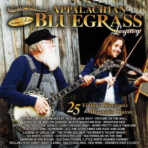 VARIOUS ARTISTS 'Appalachian Bluegrass Legacy - 25 Vintage Bluegrass & Mountain Classics'   RUR-330-CD