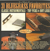 VARIOUS ARTISTS '31 Bluegrass Favorites Classic Instrumentals'