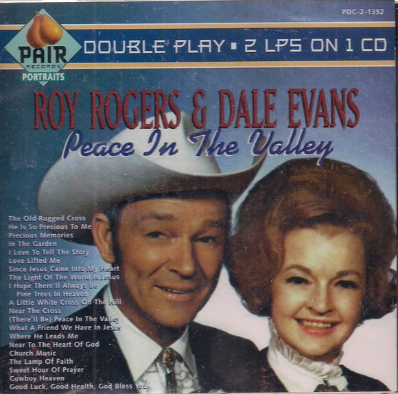 ROY ROGERS & DALE EVANS 'Peace in the Valley' PDC-1352