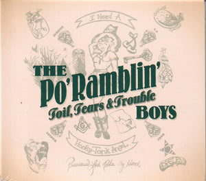PO' RAMBLIN' BOYS 'Toil, Tears and Trouble' ROU-00656-CD