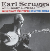 EARL SCRUGGS WITH FAMILY & FRIENDS 'Live At The Ryman' ROU-0618-CD