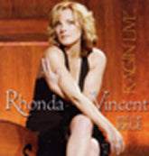 RHONDA  VINCENT & THE RAGE 'Ragin Live'