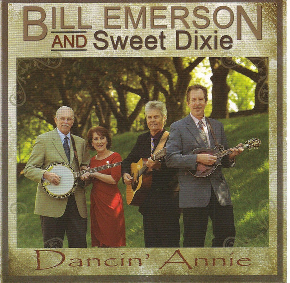 BILL EMERSON AND SWEET DIXIE 'Dancin' Annie'    RUR-1117-CD