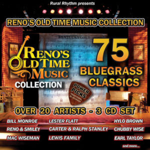 VARIOUS ARTISTS '75 Bluegrass Classics'            RUR-1126-3CD