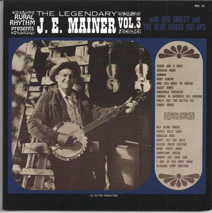 J. E. MAINER 'The Legendary J. E. Mainer - Volume 3'