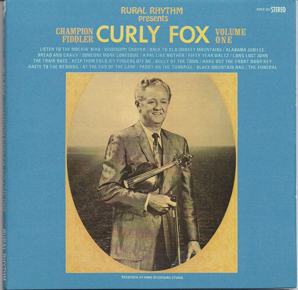 CURLY FOX 'Champion Fiddler - Volume One'