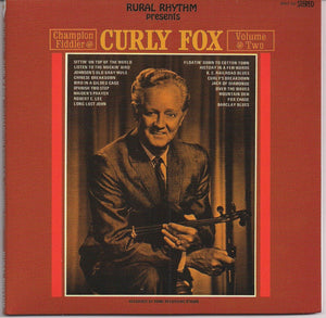 CURLY FOX 'Champion Fiddler - Volume Two'