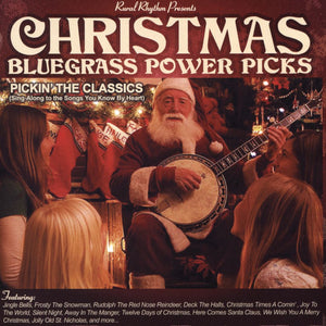VARIOUS ARTISTS 'Christmas Bluegrass Power Picks'   RUR-500-CD
