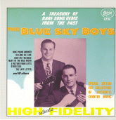 BLUE SKY BOYS 'A Treasury of Rare Song Gems From the Past'