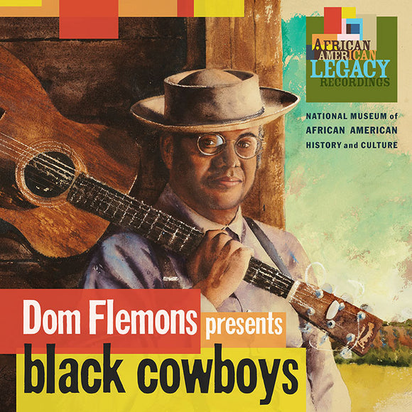 DOM FLEMONS 'presents Black Cowboys'     SF-40224-CD