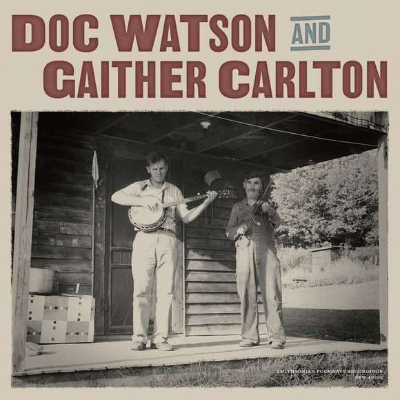 DOC WATSON & GAITHER CARLTON SF-40235-LP